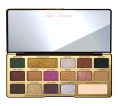Chocolate Gold Eyeshadow Palette - Too Faced  #tfchocolate #toofaced