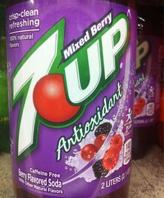 What's Up with 7 Up? (Now it's an Antioxidant Drink???)