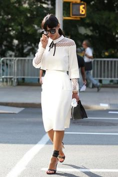 White on white with a western twist - obsessed.