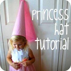 Disfraces caseros: sombrero de hada y princesa medieval | Fiestas y Cumples