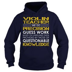 (Top Tshirt Charts) Violin Teacher Job Title [Tshirt Sunfrog] Hoodies, Tee Shirts
