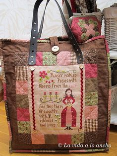 Rosie -Little House needleworks What a wonderful way to display stitching