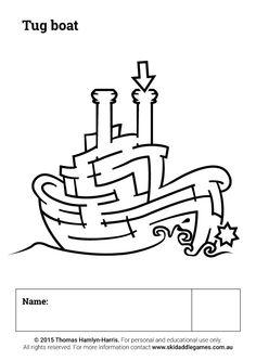 www.skidaddlegames.com.au Printable Mazes, Activities