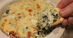 Photo Credit: normalcooking.files.wordpress.com Like whoa. How is this type of recipe able to exist?!? My love for spinach artichoke dip is unexplainable. I lov