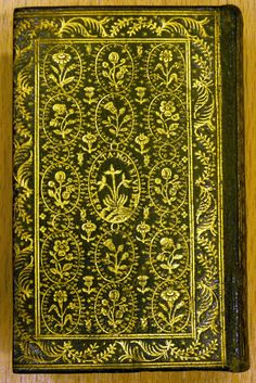 "Hand-tooled leather volume of the knight's tale, Amadis de Gaula"" - 16th century Parisian morocco"