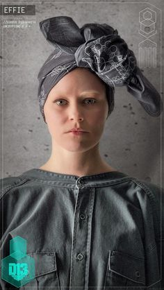 Character Portraits found in District 13 schematic: Effie Trinket