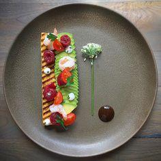 """702 Likes, 23 Comments - Enrique Limardo (@enriquelimardo) on Instagram: """"• Tostada de Auyama y frutos Del Mar • • Pumking brioche """"tostada"""" with seafood • #shrimp…"""""""