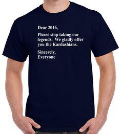 Funny Tshirts 2016 Shirt Kardashians by TwistedMonkeyApparel