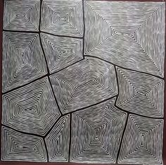Gundooee - Contemporary Indigenous Art - George Ward Tjungurrayi