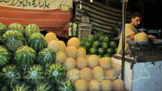 Melon stand