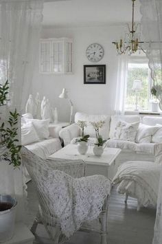 White Color Living Room_35