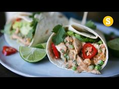 Pulled Jerk Chicken Wrap - YouTube. Also good for sandwich spread ...