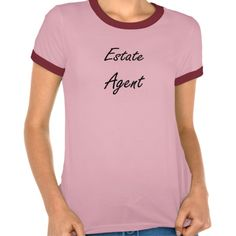 Estate Agent Artistic Job Design T Shirt, Hoodie Sweatshirt