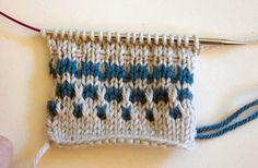 Slip Stitch Knitting Baby Blanket Pattern : Babyteppe i kornblomstm?nster / Slip stitch baby blanket Knitted for babies...