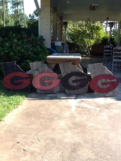 Georgia State Wood Pallet Sign Stuff To Try Pinterest
