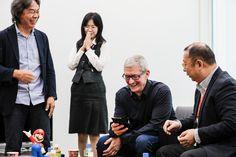 Apple visita Nintendo en su viaje a Japón - http://www.actualidadiphone.com/apple-visita-nintendo-viaje-japon/