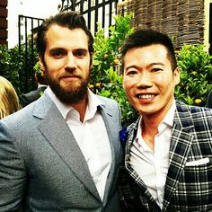 "NEW PIC ALERT  @lancecklim had all the luck today when he met Henry Cavill today! ""Finally I get to meet the Man of Steel #superman  #dunhill #london #dunhillss16""  #HenryCavill #Superman #ManofSteel #TheManFromUNCLE #NapoleonSolo #BatmanvSuperman #DawnofJustice #ClarkKent #CharlesBrandon #London #fun #Dunhill #style #fashion #gentleman:"