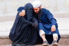 -lightdrawer:  mehreenkasana: Finally. A photograph that does not adhere to conventional methods of portraying a Muslim couple as emotionless, hollow, sadistic beings from a far away land. This is love right here. This is a normal Muslim couple. How hard is it for some folks to understand that, yes, a Muslim husband and wife enjoy intimate moments together? Why can't people share more of these images? Damn it.
