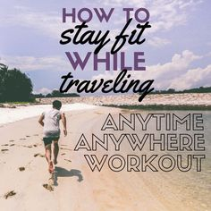 Staying fit while traveling is a breeze with these exercises. Stay fit with this anytime, anywhere travel workout. Original article a. Travel Info, Travel Advice, Travel Tips, Travel Hacks, Travel Ideas, Best Places To Travel, Cool Places To Visit, Book Cheap Hotels, Travel Workout