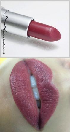 MAC Amorous Lipstick Swatch