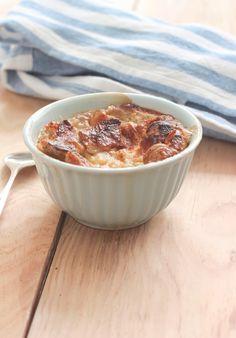 Friday again!: pudding de cruasán y caramelo