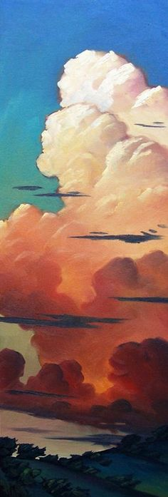William Hawkins | OIL | Clouds