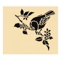 Galerie des pochoirs oiseaux - Loisirs Creatifs de F1ADC
