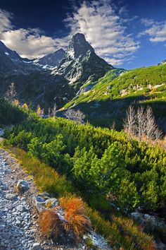 Slovakia - Igor Supuka 8 - Jahňací hill in High Tatras, Slovakia, Europe