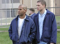 Sucre and Scofield / Prison Break Movies And Series, Tv Series, Prison Break 3, Michael Schofield, Wentworth Miller Prison Break, Sarah Wayne Callies, Dominic Purcell, Like A Storm, Tattoo