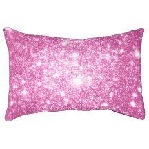 Fuchsia Pink Stars Dog Bed