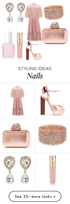 """She's so Classic!"" by shannongarner on Polyvore featuring Bling Jewelry, Valentino, Jimmy Choo, Sophia Webster, Dolce&Gabbana, Smith & Cult and Essie"