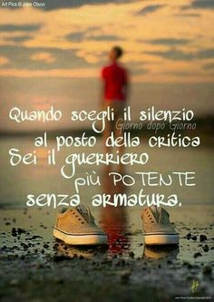 Scegliere Il Silenzio   vedi anche http://www.messaggi-online.it