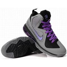 outlet store f12c9 30fae www.asneakers4u.com New Nike Zoom LeBron 9 Shoes GrayPurple