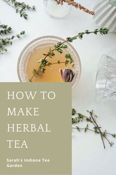 Making your own herbal tea is a great next step to your herb gardening journey. You can make tea from fresh herbs or dried herbs in your very own home! Making herbal tea | The benefits of herbal tea | Medicinal herbal tea | How to make your own herbal tea | Using dried herbs | How to dry your herbs | DIY herbal tea Planting Vegetables, Fresh Vegetables, Fresh Herbs, Making Herbal Tea, Herbal Tea Benefits, Peppermint Tea, Herb Gardening, Tea Gifts, Tea Blends