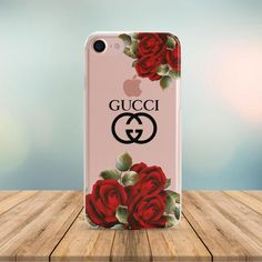 3ae1839d00b9 Inspired by Gucci case iPhone XS Max case iPhone 8 Plus Gucci Flowers case  Galaxy S9 logo iPhone 7 P
