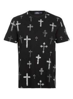 Crucifix Tee. #Topman
