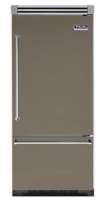 "36"" STONE GREY Refrigerator/Freezer - Viking Range"