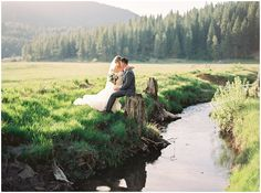 Rustic Outdoor Lake Tahoe Wedding Inspiration - Coco Tran Photography