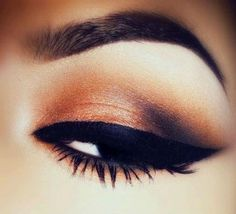 Bronze smokey eye- I already have the eyeshadow for this look :)