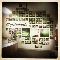 I like the layout of pics on the wall. Also it's an interesting Forbes article on Hipstamatic!