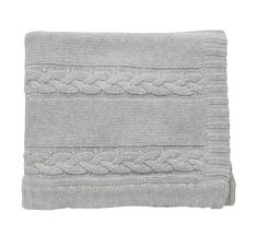 Cable Knitted Blanket x