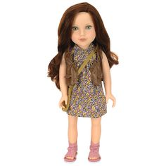 """Journey Girls 18 inch Soft-Bodied Doll - Kelsey (Floral Dress) - Toys R Us - Toys """"R"""" Us"""