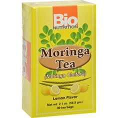 Bio Nutrition Tea - Moringa Lemon - 30 Bags