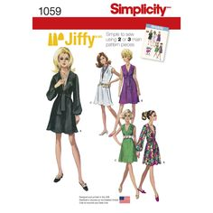 Find a pattern for Misses' Jiffy Dress and Sash or Scarf at Simplicity, plus many more unique patterns. Visit today!
