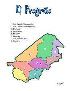57 Mejores Imágenes De Mapas De Guatemala Sus Departamentos