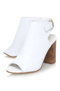 **Assent White High Heel By Carvela Kurt Geiger - Shoes- Topshop Europe