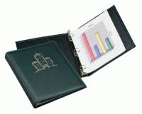 Forbestitched Binder. For perfection in presentation binders, The Forbestitch Simulated Leather Binder is without equal.  Distinct decorative stitching adorns a high quality, supple faux leather cover and spine.  Handcrafted in our American facility, this binder is a lock for impressing even the most discerning of clients.