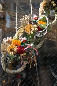 しめ縄/正月飾り/花どうらく/http://www.hanadouraku.com/flower/