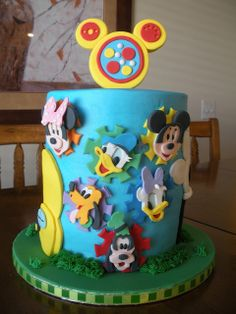 Mickey Mouse Clubhouse by Tasty Cakes by Jennifer, via Flickr