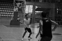 Pase picado, a una mano, dirigido por Jaume Vallés. 29 de agosto #baloncesto #AdeccoPlata #Lucentum #Alicante #basket